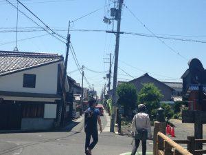 近江八幡市内散策・写真(6月3日)